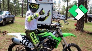 Dirt Bike and RZR Rides with A Big Splash!  Clintus.tv
