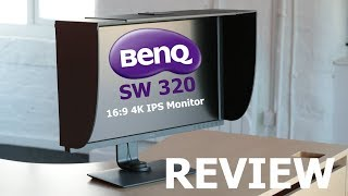 Best Monitor for 4k editing  BenQ SW320 Review
