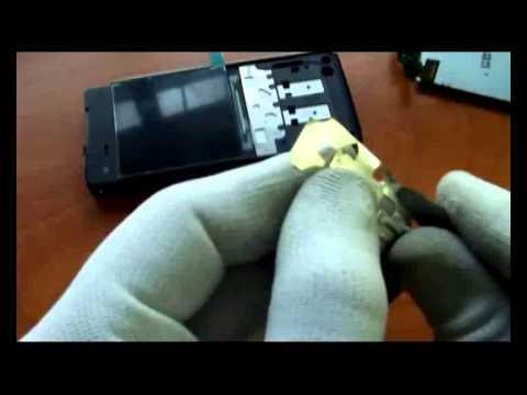 How to assembly,disassembly Sony Ericsson C902 montaż/demontaż