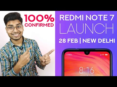 Redmi Note 7 Launch Date in India And Price | Officially Confirmed Mp3