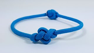 How to make Eternity Knot Bracelet [by ParacordKnots]