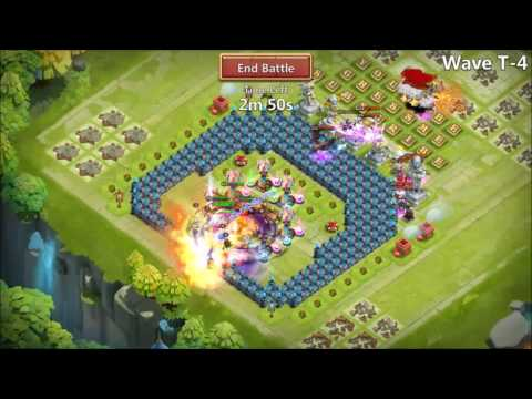 Castle Clash How To Beat HBM T (No SK!!!)