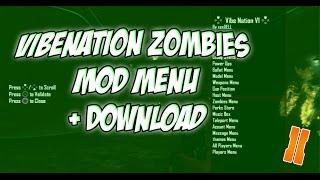 """Black Ops 2: Zombies Mod Menu Showcase - """"Vibenation"""" (PS3) - Free Download"""