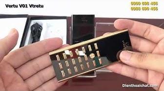 Điện thoại V01 Vtretu sành điệu - Review điện thoại vertu v01 sang trọng độc lạ