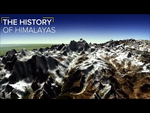 How the Himalayas Were Formed