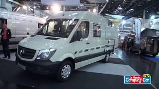 Fourgon Rondo de Cs-Reisemobil: un Mercedes Sprinter costaud pour grands voyages