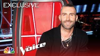 Kelly Clarkson, Jennifer Hudson, Adam Levine & Blake Shelton Talk Firsts and Faves - The Voice 2018