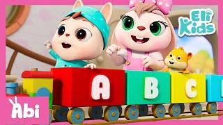 ABC Song (Train Version) +More | Eli Kids Educational Songs & Nursery Rhymes