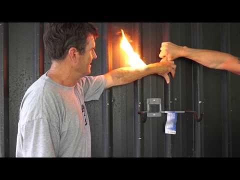 Stunt Gel Solutions Arm Burn 2015