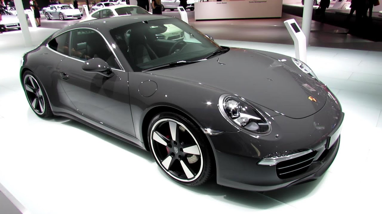 2013 porsche 911 50th anniversary edition exterior. Black Bedroom Furniture Sets. Home Design Ideas