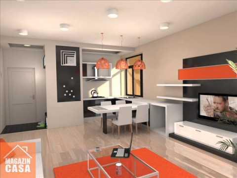 Design interior apartament 2 camere bloc nou arad youtube for Design apartment 2 camere