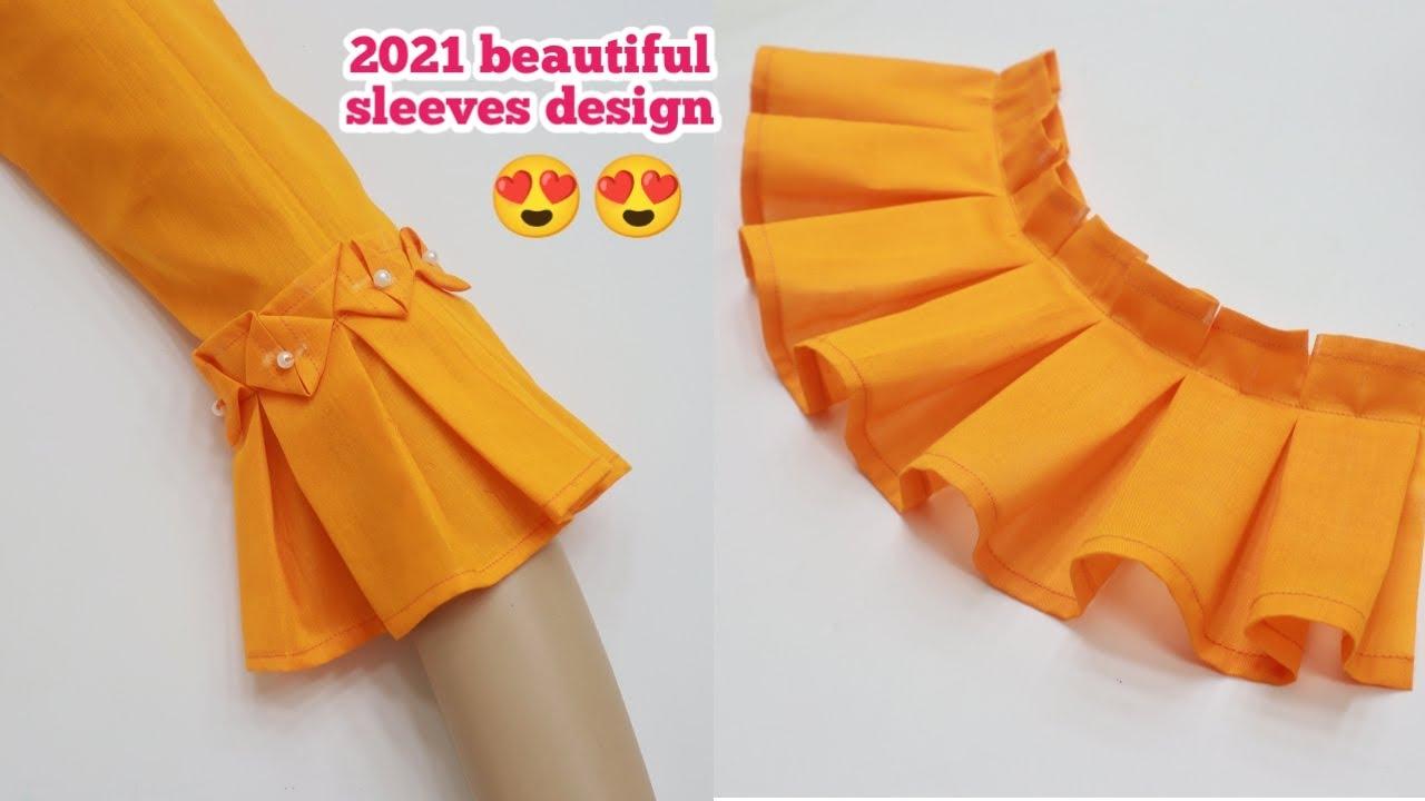 ২০২১ সালের চমৎকার হাতার ডিজাইন তৈরি কাটিং ও সেলাই/2021 Beautiful Sleeves Design Cutting & Stitching