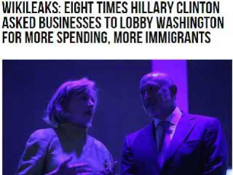 Wikileaks: Eight Times Hillary Clinton Asked Businesses to Lobby Washington for More Spending,