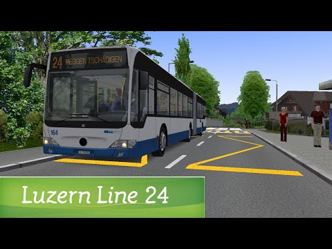 OMSI 2 : Luzern Line 24 MB0530G #1