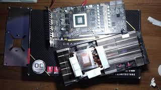 ASRock RX 5700 XT Challenger в майнинге, доработка охлаждения чипов памяти. Температура ниже на 14гр