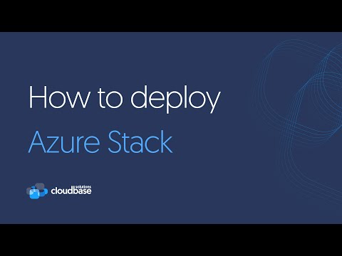How to deploy the Microsoft Azure Stack PoC