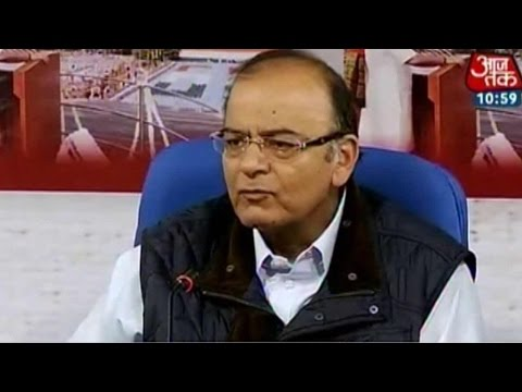 Finance Minister Arun Jaitley on latest developments in black money case
