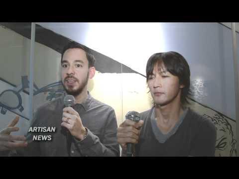 Linkin Park's Mike Shinoda and B'z Koshi Inaba Interview