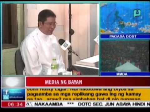 [RadyoBisyon] Guest: Fr. Jess Manabat Jr. (Episode 65) - [Jan. 9, 2015]