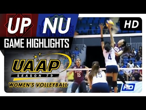 UP vs NU | Game Highlights | UAAP 79 WV | March 26, 2017