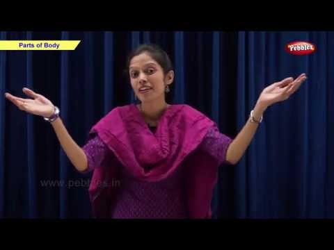 Parts of Body   Class 1 CBSE Science   Science Syllabus Live Videos   Video Training