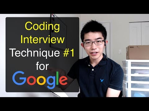 Problem Solving Technique #1 for Coding Interviews with Google, Amazon, Microsoft, Facebook, etc.