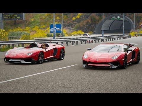 Download Forza Horizon 4 Drag Race Lamborghini Aventador J Vs