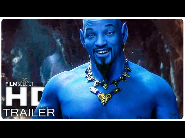 ALADDIN Trailer 2 (2019)
