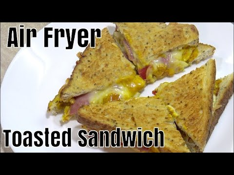 Air Fryer Hot Dog Toasted Sandwich