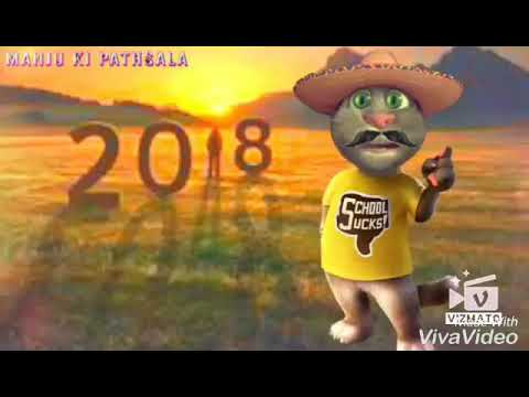 Hindi)Tom send wishes of new year with many jokes - YouTube