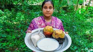 Bengali Palm Pakora Making Recipe by Village Food Life