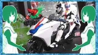 【仮面ライダードライブ】S.H.Figuarts ライドマッハー&初回特典ファンキースパイクエフェクト レビュー!Kamen Rider Drive
