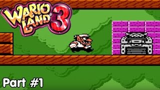 Slim Plays Wario Land 3 - #1. The Great Music Box Debacle