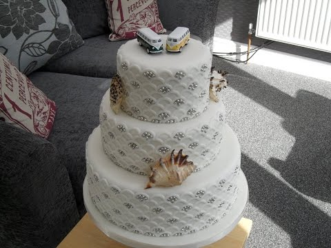"""how-to-make-a-three-layer-wedding-cake-12""""-9""""-and-6""""-round-cakes"""