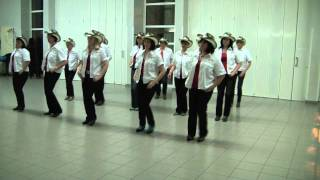COUNTRY AS CAN BE - line dance - NEW SPIRIT Of Country Dance