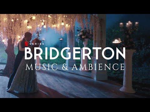 Bridgerton Ambience U0026 Music: Rain At The Hastings Ball | Study, Relax, Sleep (1 HOUR)