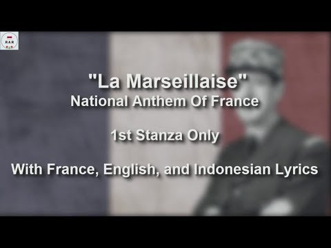 La Marseillaise - With Lyrics