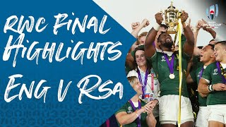 Rugby World Cup Final Highlights: England 12-32 South Africa
