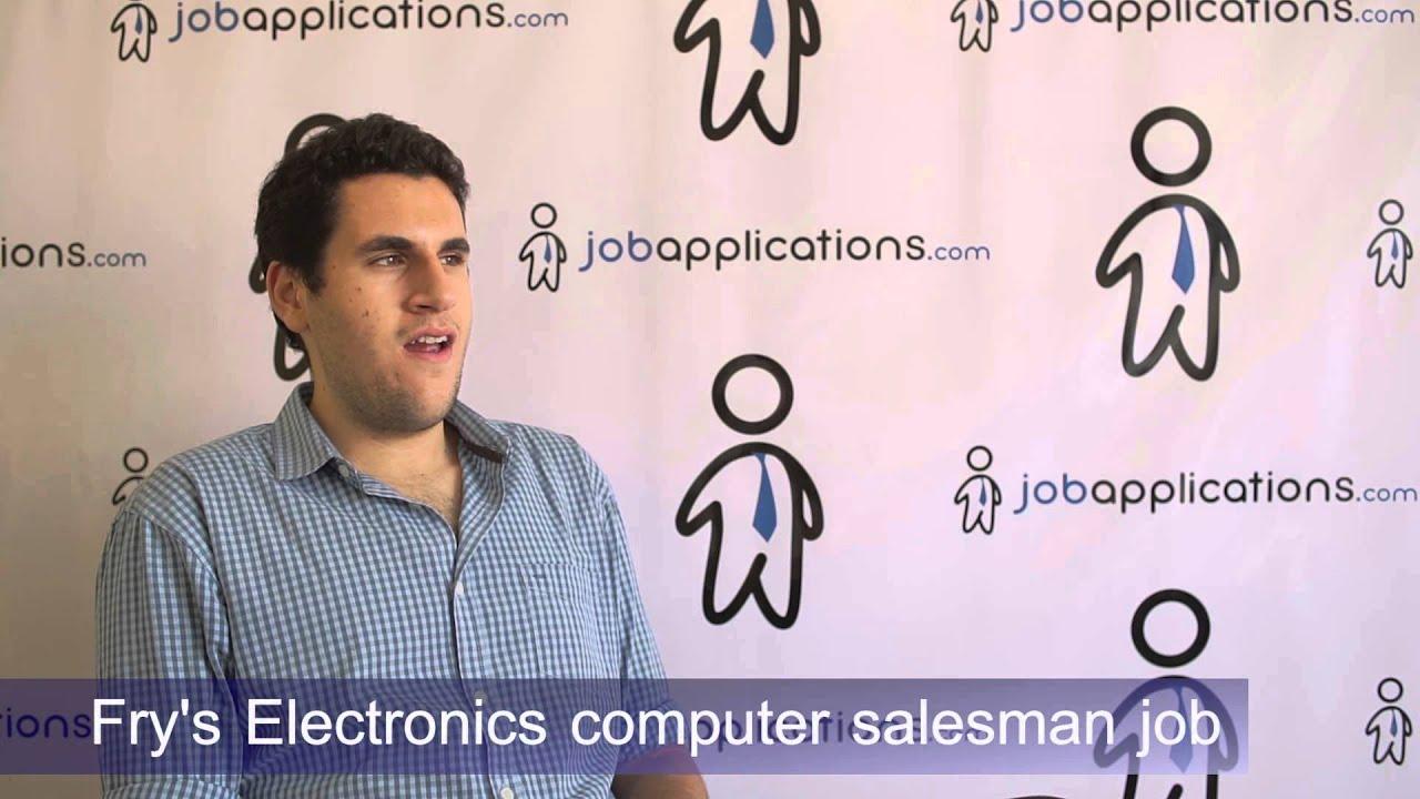 Fryu0027s Electronics Interview   Computer Sales Associate   YouTube