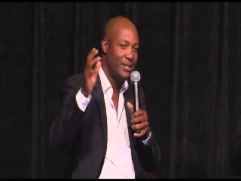 Brian Lara interviewed by Mike Coward at the LBW Trust Dinner 2015