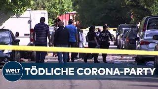 WASHINGTON: CORONA-PARTY endet in wilder Schießerei