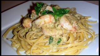 Pesto Shrimp Linguini Recipe - Delicious Italian Food