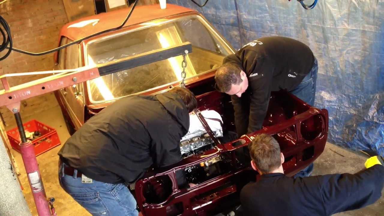 Golf MK1 Cabrio 20vt Engine Swap