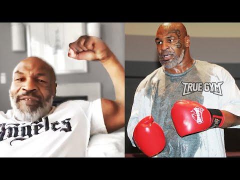 Майк Тайсон готов подраться в UFC / Тренировки Железного Майка к возвращению в бои продолжаются