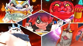 Yo-kai Watch Blasters - All Bosses