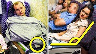 10 Wenig Bekannte Tipps für Perfekten Schlaf im Flugzeug