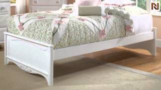 Lea 012-924r 4/6 Full Platform Bed W/slat Pack From Haley