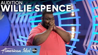 STUNNING Singer! Willie Spence Shines Brighter Than Any Diamond - American Idol 2021