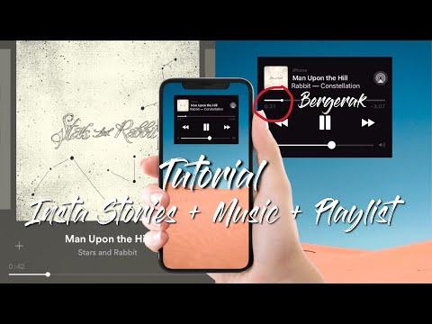 Tutorial Instastory Playlist Musik Bergerak ( Cuma Pake Inshot)