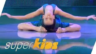 Fairy-like contemporary dance of a 9yrs old | Melanie Dargel | Superkids